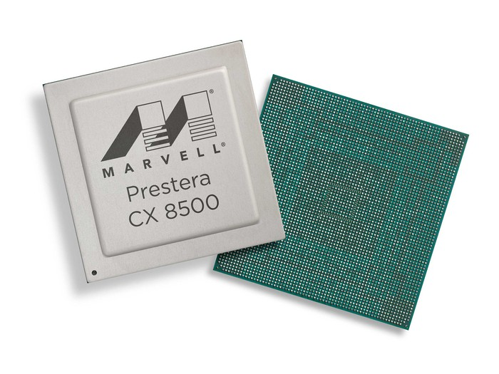 Marvell's Prestera CX8500 chip.