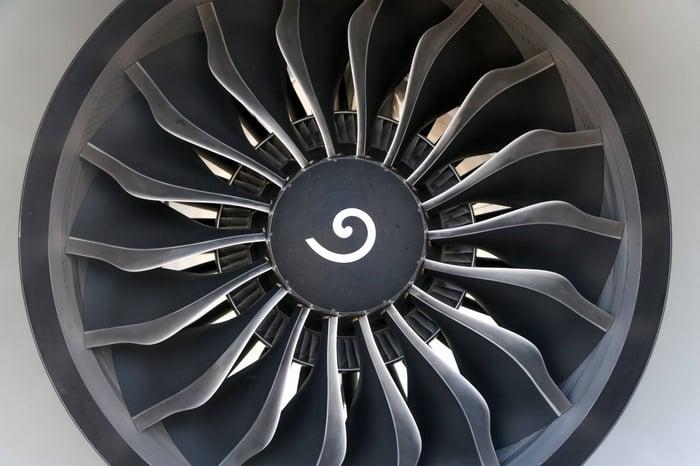 A GEnx engine