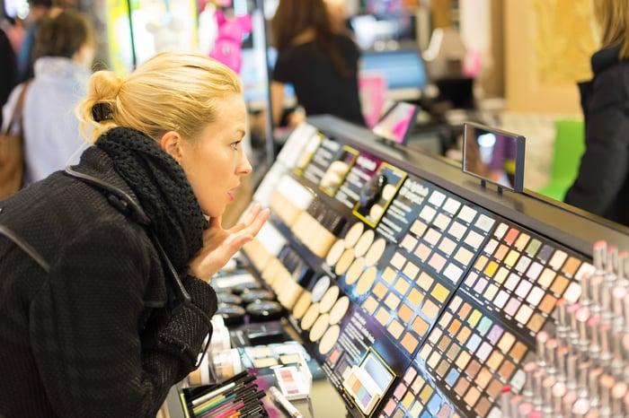 A cosmetics shopper.