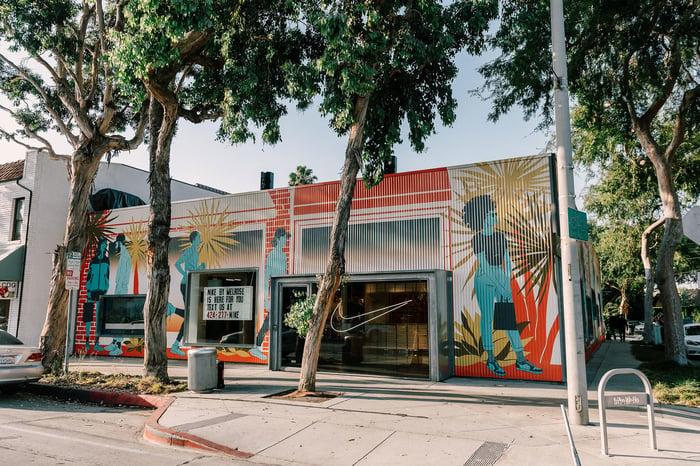 The Nike Live store in LA