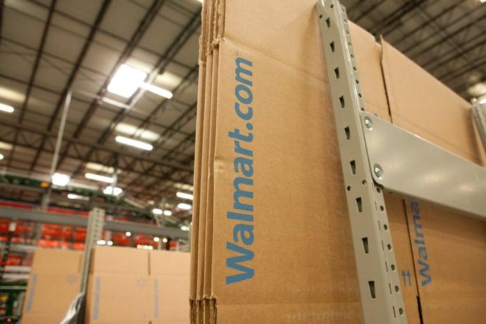 A walmart.com box.