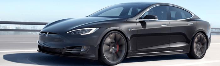 Tesla's Model S.