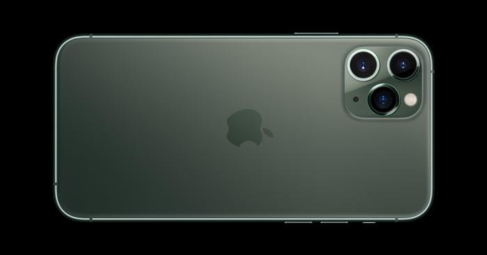 Apple's iPhone 11 Pro.