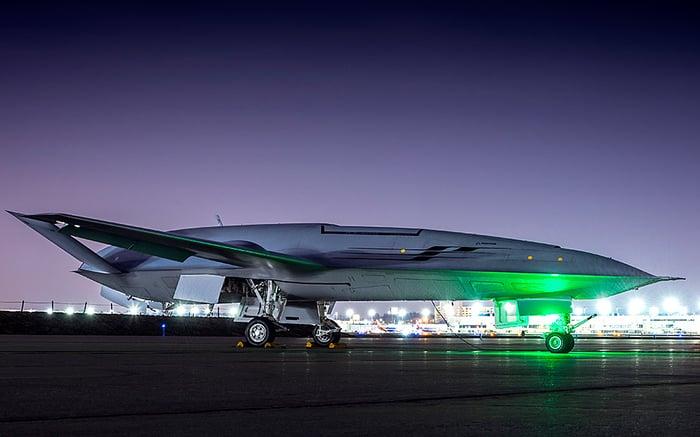 Boeing stingray Navy drone.
