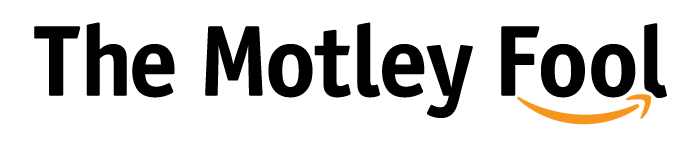 Motley Fool logo featuring the worlds The Motley Fool and Amazon's smiley arrow
