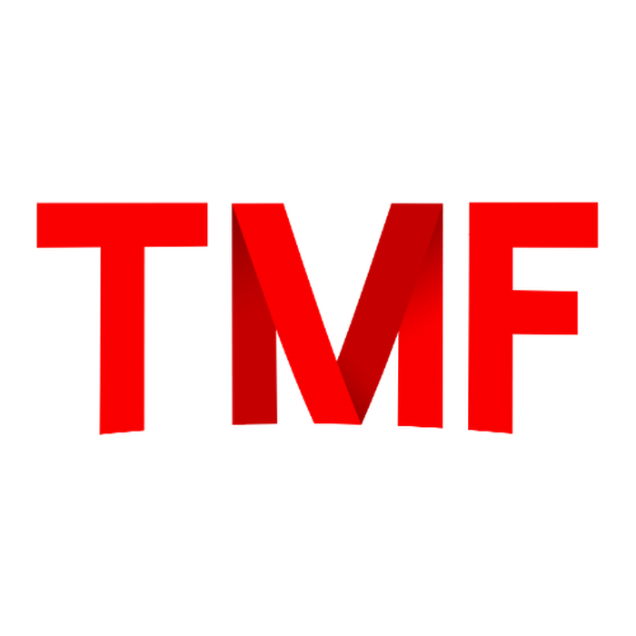 A mashup of the logs of The Motley Fool and Netflix featuring the letters TMF