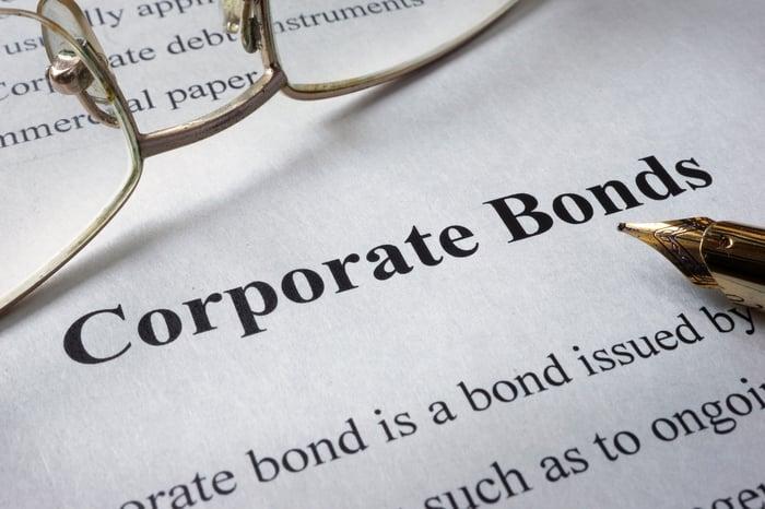 Corporate bonds.