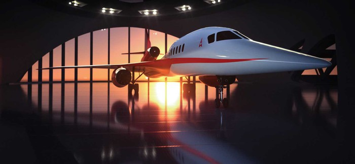 The Aerion AS2 supersonic jet.