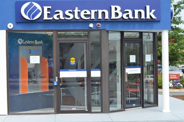 An Eastern Bank branch.