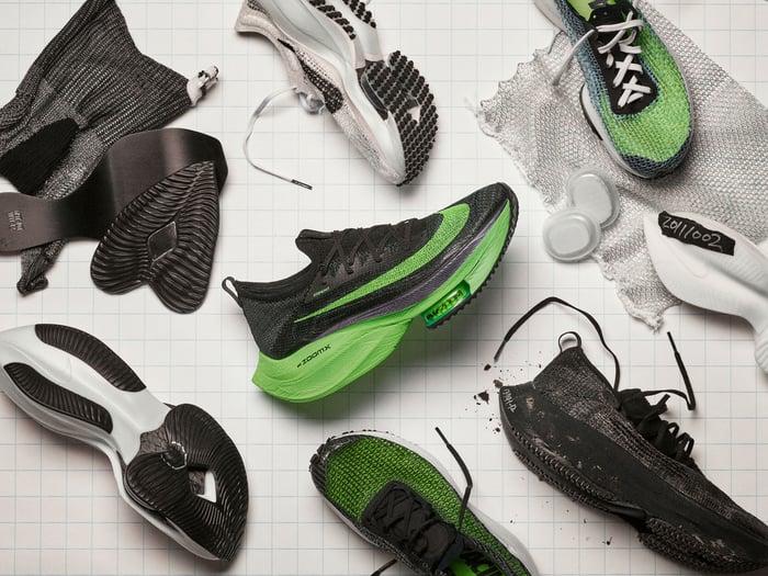 Nike Alphafly sneakers.