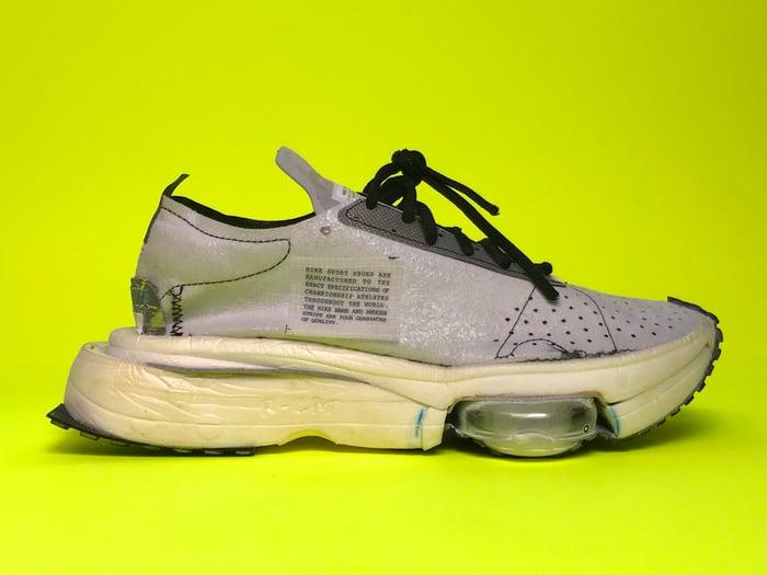 Nike Air Zoom sneaker.