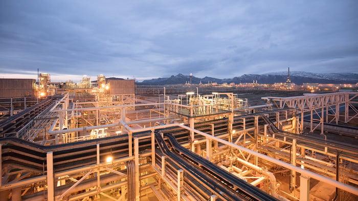 BP's Sangachal Terminal - part of the Shah Deniz 2 project