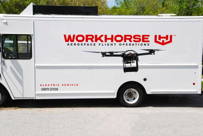 A Workhorse EV.