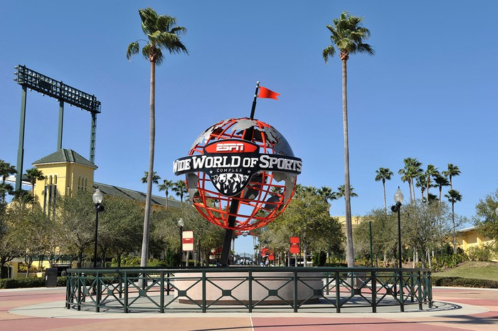 Entrance of ESPN Wide World of Sports in Orlando