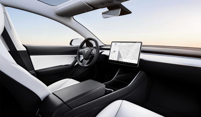 Interior of the Model 3
