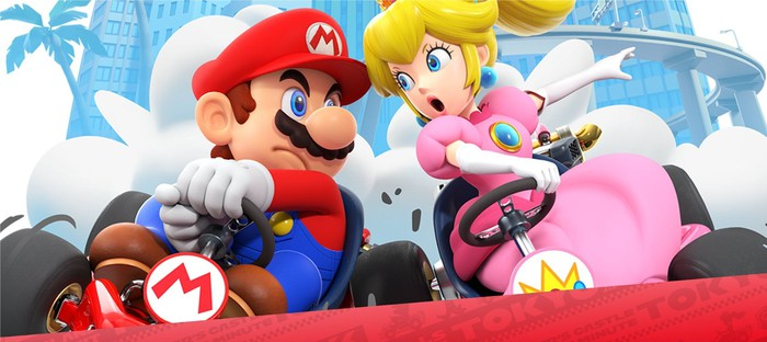 Mario Kart Tour for Android and iOS.