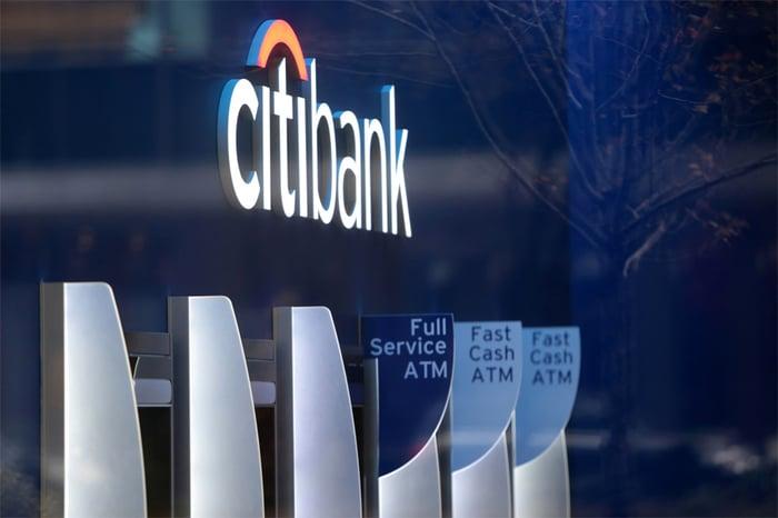Citigroup building interior.