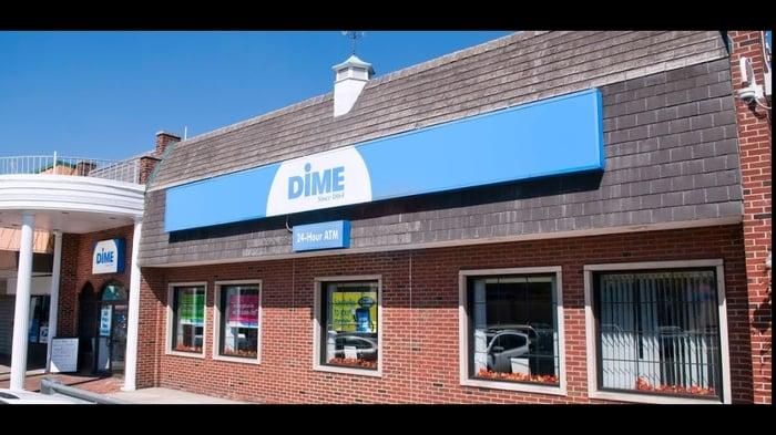 A Dime Community Bank branch.