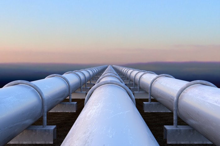 Three pipelines side by side.