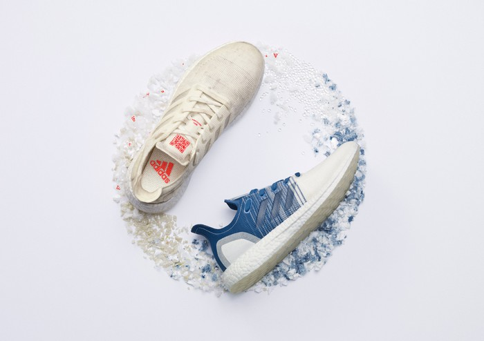 Adidas' recyclable Futurecraft.Loop shoes.