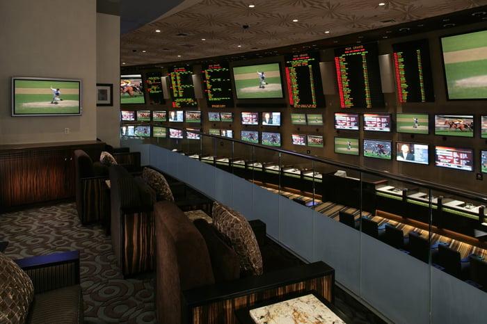 sportsbook at MGM Grand casino