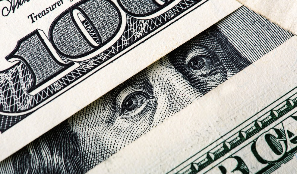 Folded Money Cash Invest Retire Social Security Treasury Getty