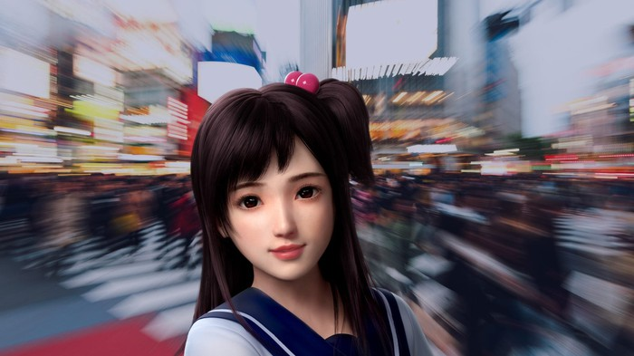 An animated avatar depicting a teenage girl.