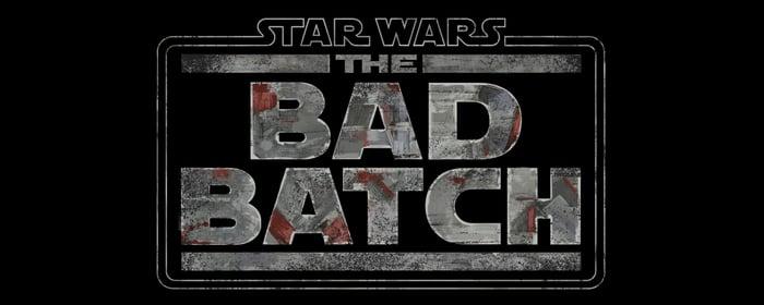 """Star Wars: The Bad Batch"" logo."
