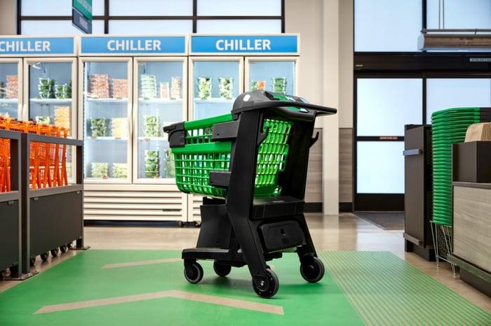 Amazon Dash Cart shopping cart
