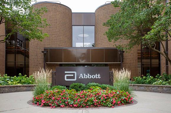 An Abbott Labs office building