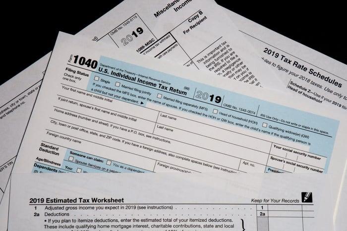 2019 Tax Form 1040