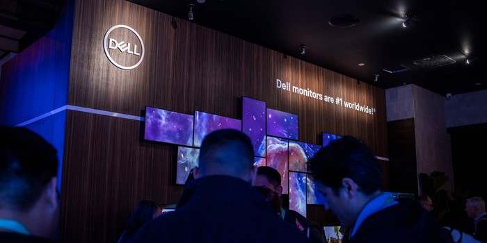 Dell booth at CES 2020