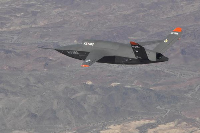 Kratos XQ-58A Valkyrie test flight, June 11, 2019.