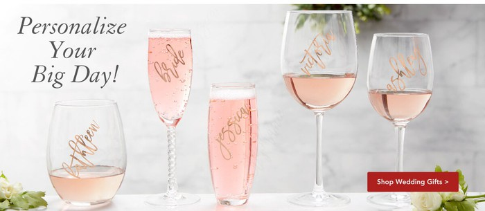 Personalized wine glases