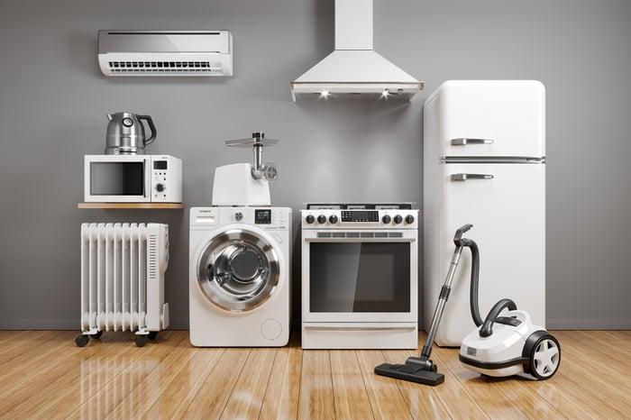Various appliances.