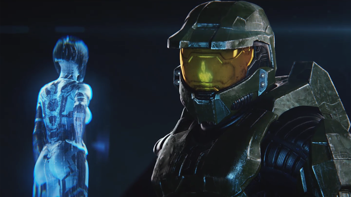 """Master Chief character from the Xbox """"Halo"""" game series"""