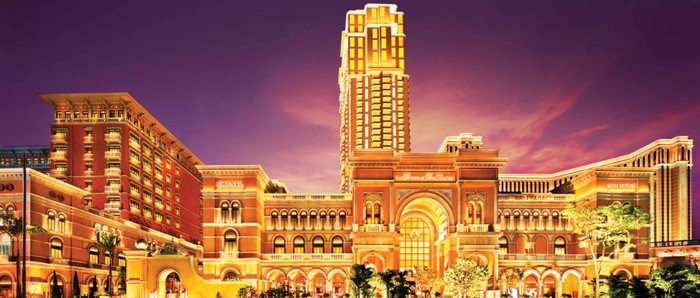 The Plaza Macao owned by Las Vegas Sands.
