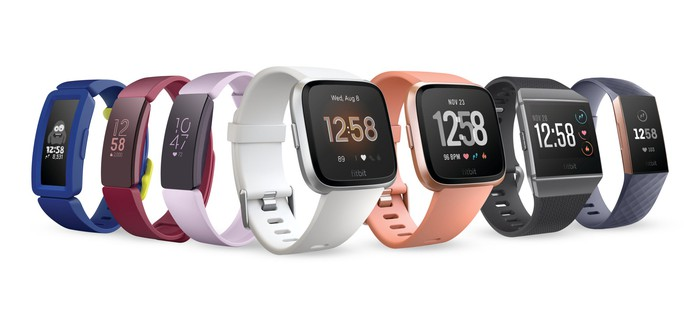 Fitbit's fitness trackers and smartwatches.