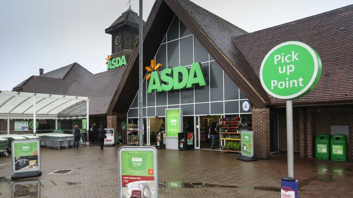 An Asda supermarket in the U.K.