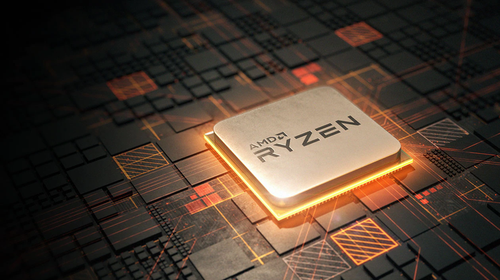 An AMD Ryzen chip.