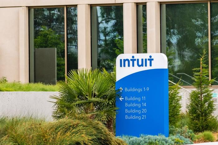 Intuit's headquarters.