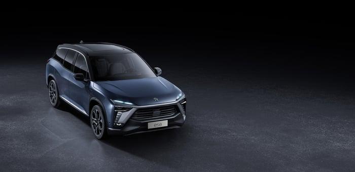 NIO ES8 smart electric SUV