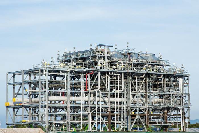 Liquefied natural gas facility