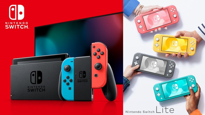 Nintendo Switch gaming consoles