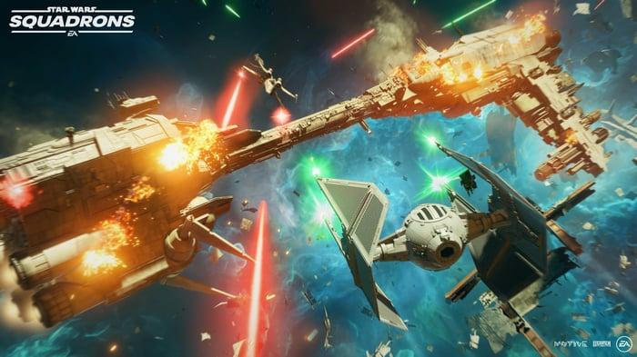 Screenshot of EA Star Wars gameplay