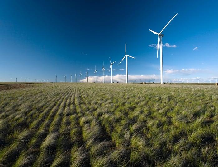 Avangrid's Big Horn Wind Farm in Bickleton, Washington.