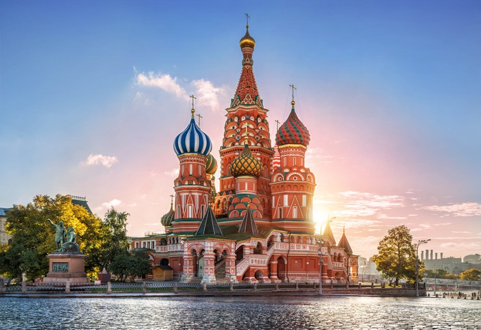 picture of the Russian cathedral
