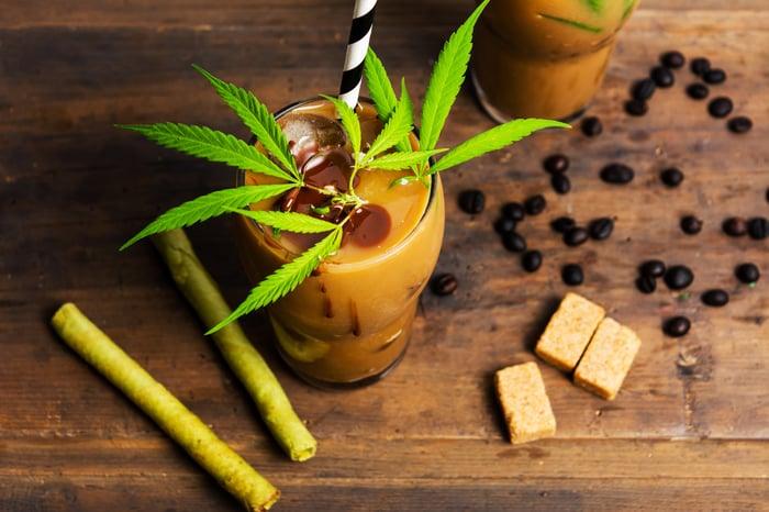 Marijuana beverages and edibles.
