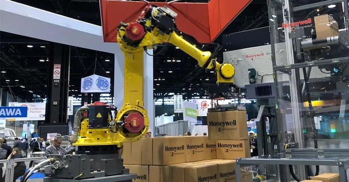 Honeywell Intelligrated warehouse automation tools.