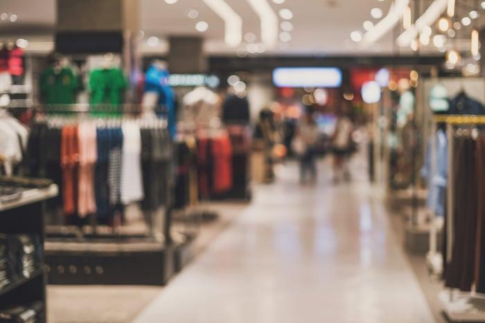 Apparel retail store